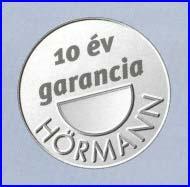 10 év Hörmann garancia